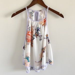 NWOT Free People Break Free Floral Top Size S